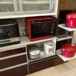 ホットクック2台置き場をキッチンに作ってみました その1
