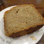 ホームベーカリーで試作「全粒粉100%の食パン」