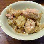 ホットクックで試作「鶏肉とキャベツの煮物」
