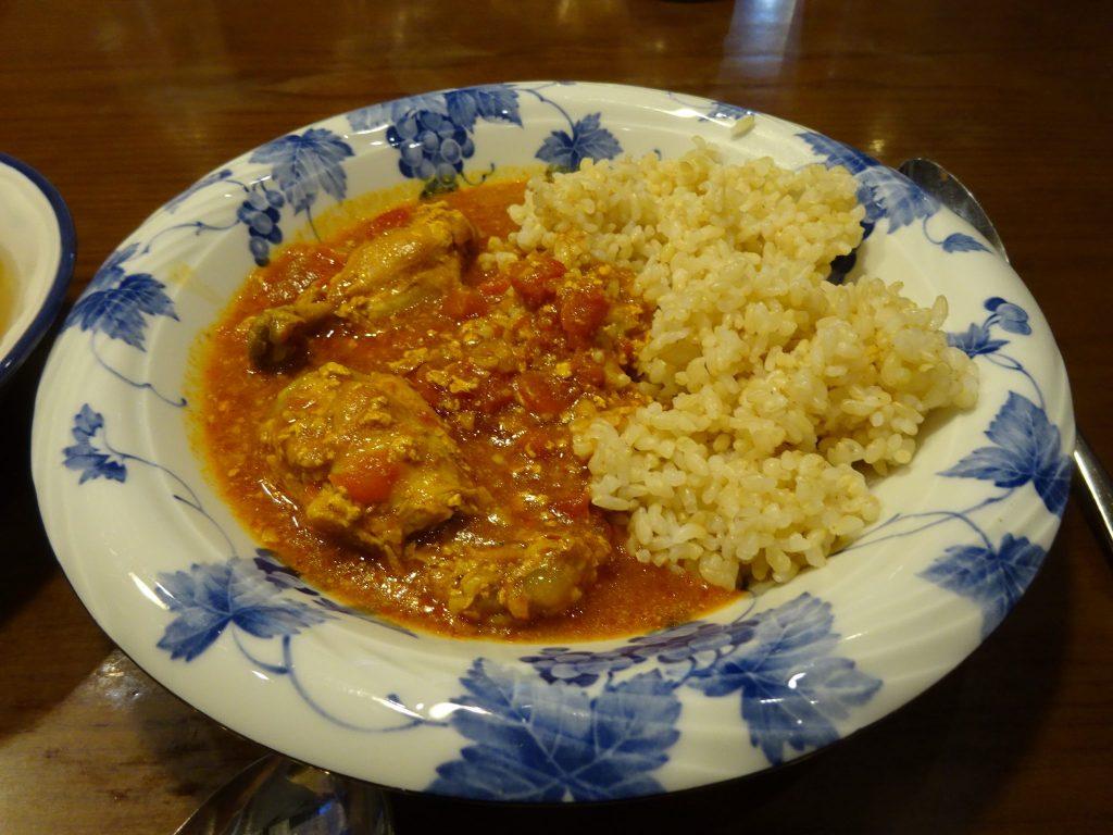玄米と中毒カレー