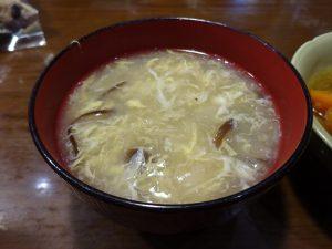 トロトロ卵入り中華スープ