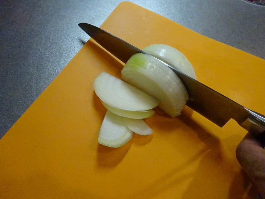 玉ねぎの切り方