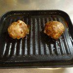 ヘルシオで試作「冷凍ハンバーク」