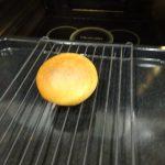 ヘルシオで試作「焼き立てパンあたため」