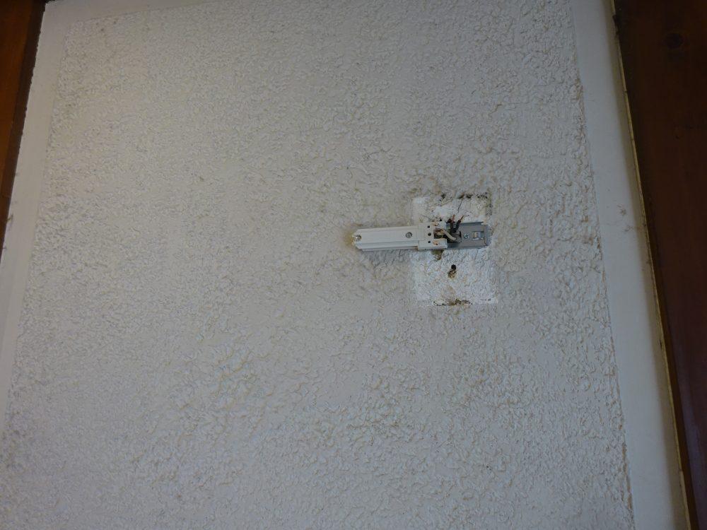 壁にらぃてぃんぐレール