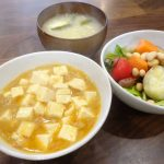 絹ごし豆腐の麻婆豆腐も美味しい