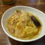 干しシイタケ入り豚肉と白菜の煮物美味しいです