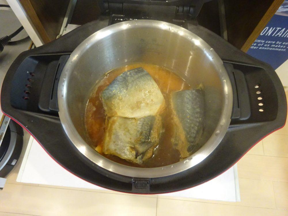 サバの味噌煮完成