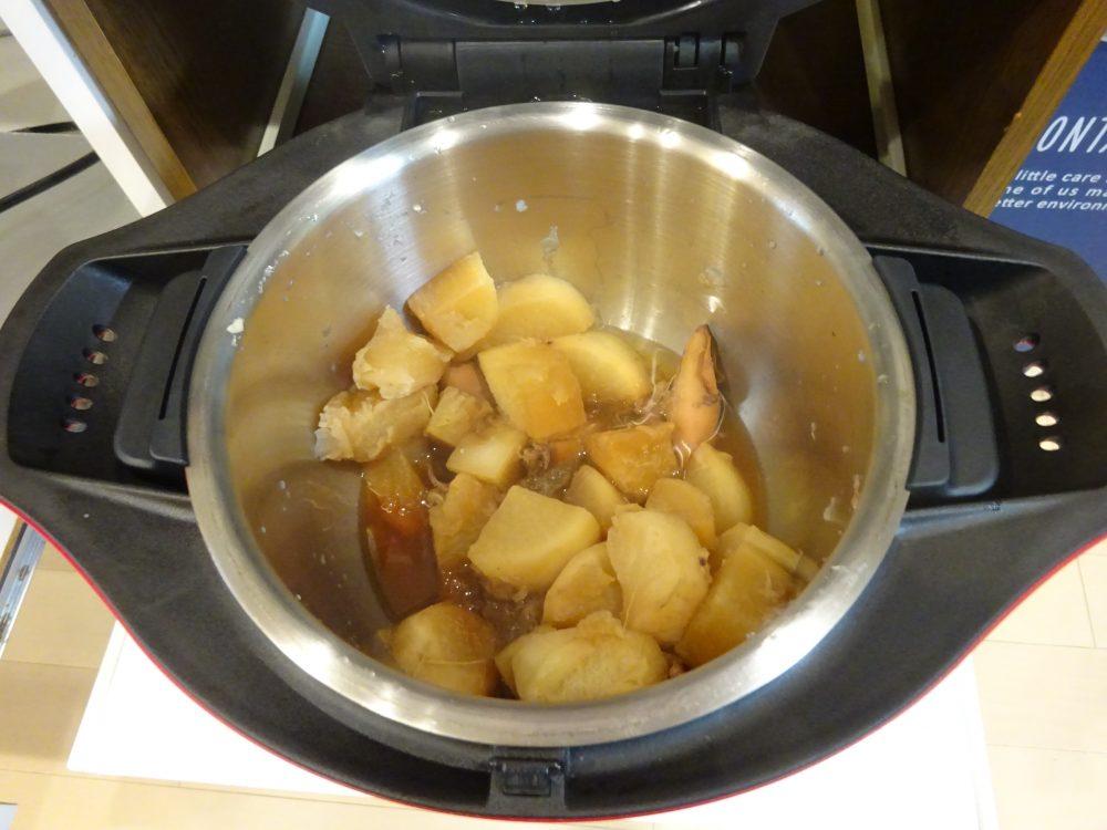 やりイカと大根の煮物完成