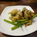 ヘルシオで試作「アスパラと鶏もも肉のオーブン焼き」