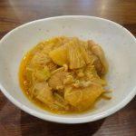 ホットクックで試作「鶏肉と大根の味噌煮込み」