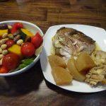 ホットクックでタイのアラ炊きを作ってみた
