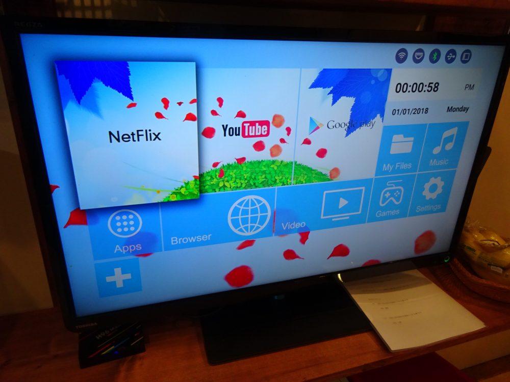 スマートボックス Androidをテレビに接続