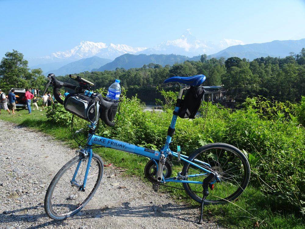 ネパール自転車旅