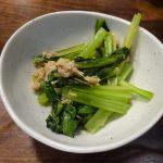 調理時間15分、ホットクックで小松菜とツナ缶の炒め物