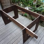 リビングに薄型収納できるイベント用ダイニングテーブルをDIYで作ってみた その1