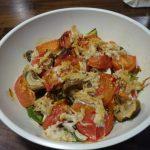 ヘルシオで鶏ミンチ肉を使ったトマトのスープ