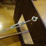 リビングに薄型収納できるイベント用ダイニングテーブルをDIYで作ってみた その6