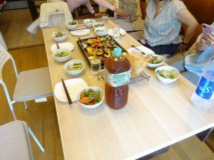 自宅にてロジカルクッキングな食事会