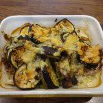 ヘルシオで作るグラタン皿で個別の野菜チーズ焼きなら時間差で帰る家族はセルフサービスで食べれる