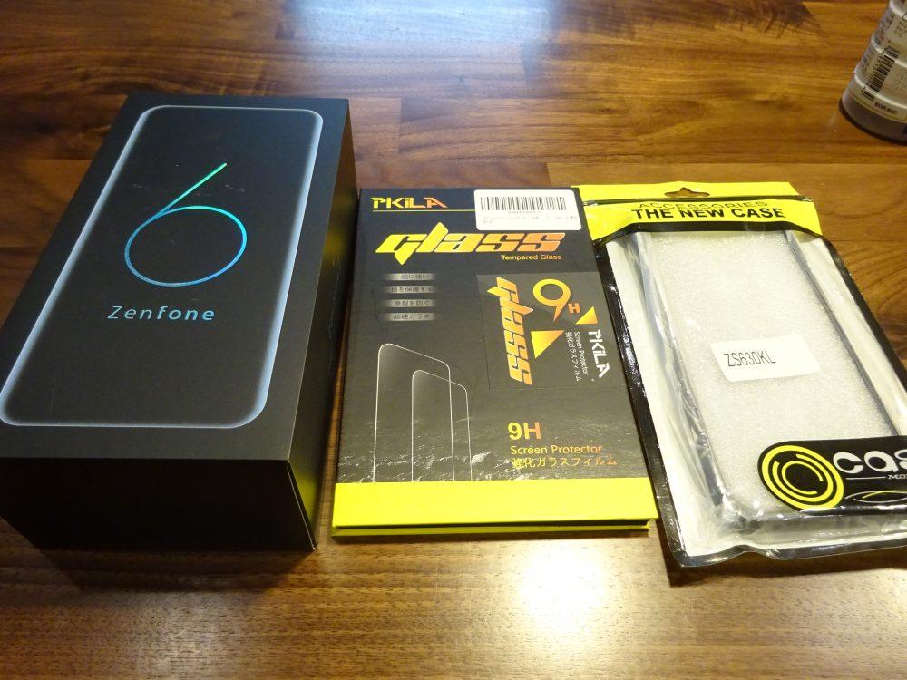 Zenfone6にスマートフォンを買い替え