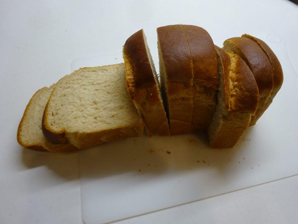 全粒粉50%の食パン