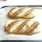 ホームベーカリーとヘルシオで作るフランスパン2回目、前回失敗のリベンジも撃沈