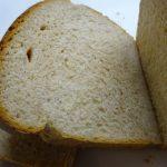 全粒粉50%の食パン作り、フッ素加工された食パン焼型でキッチンペーパーをセットする工程を省きました。