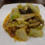 ヘルシオで豚肉と白菜のピリ辛みそ炒め