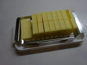 ステンレスカッター式 バターケース バターナイフ付 日本製 BTG2DX