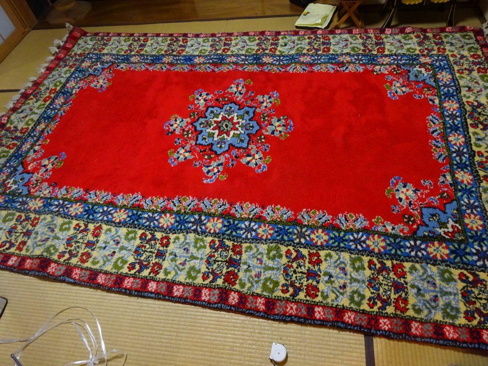 モロッコ製カーペット