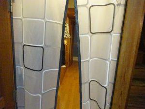 ドアカーテンが閉まらない時の対策