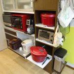 2年使った我が家の調理家電収納ラック、不満が出てきたのでDIYで作り直すことにしました。