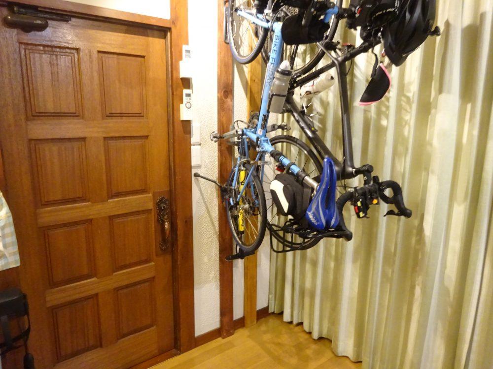自転車置き場もルンバブル化