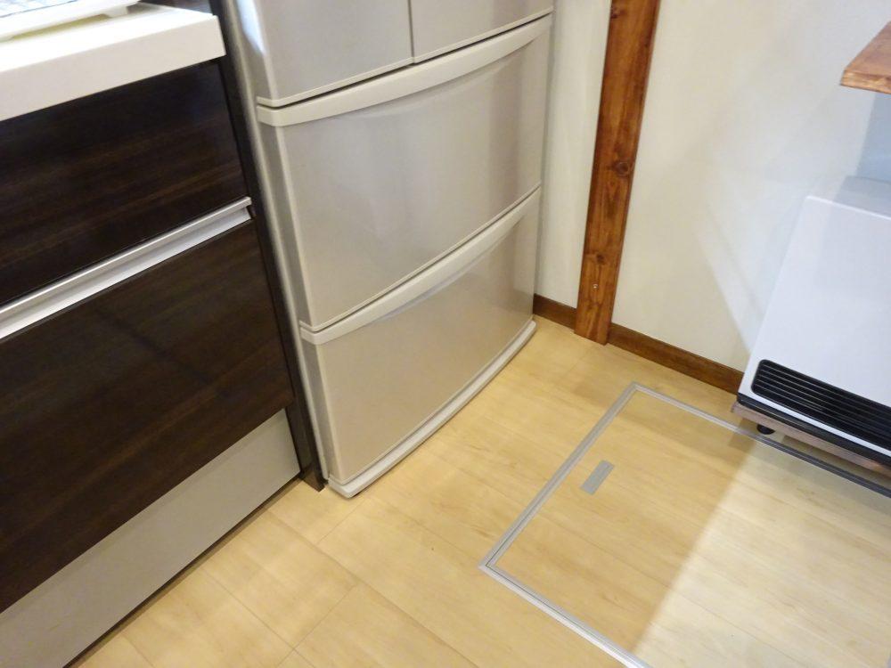 冷蔵庫とシステムキッチンもルンバブル化非対応
