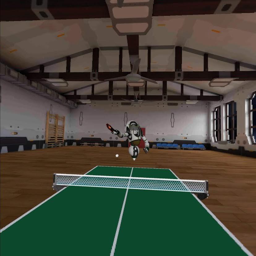 OculusQuestで自宅スポーツクラブ化して楽しんでます。VR卓球ゲームはついに最終ラウンドの最終戦
