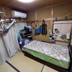 現在の寝室