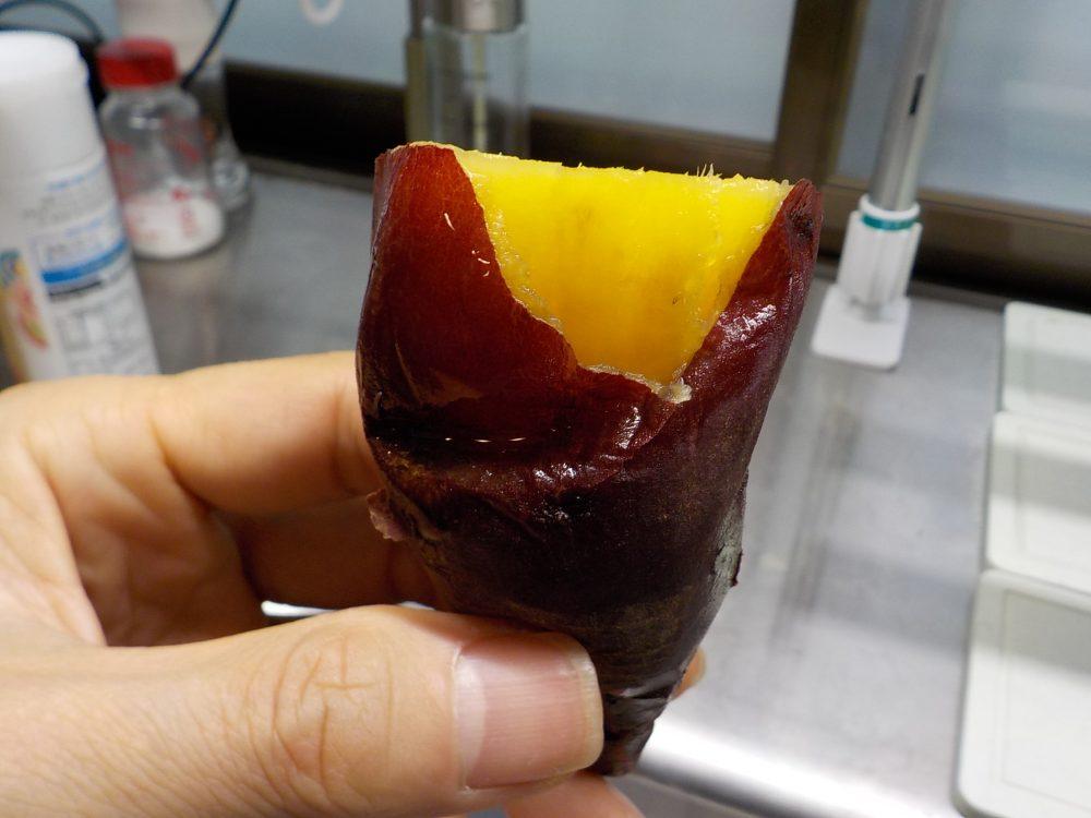ヘルシオで焼き芋