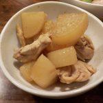 ホットクックとヘルシオで後混ぜ鶏と大根の煮物を作ったら美味しかった