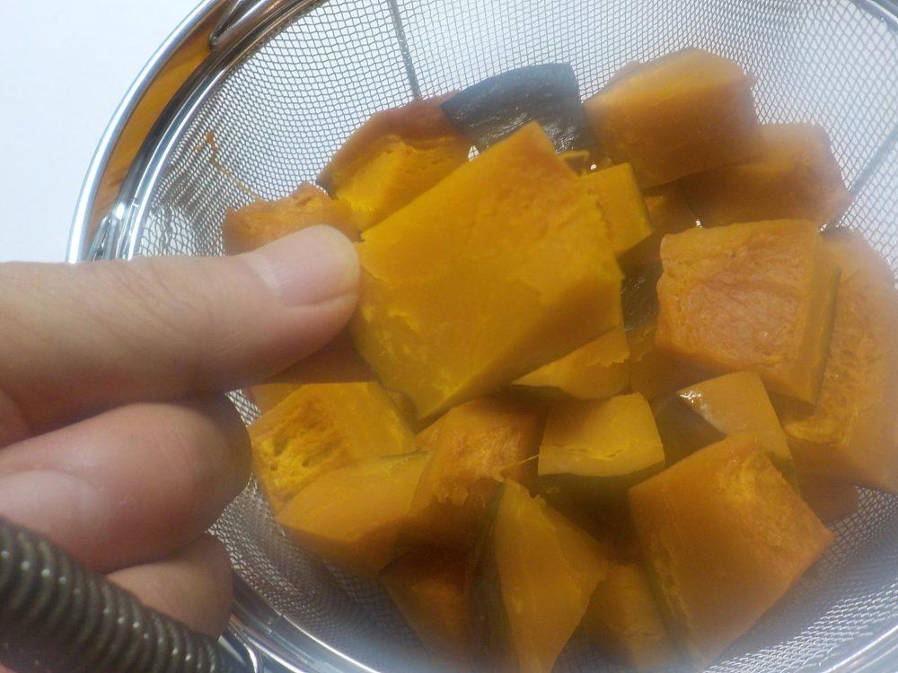蒸しかぼちゃはシュガーレスなのに甘い