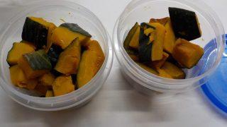 蒸したかぼちゃは甘くて美味しい常備食
