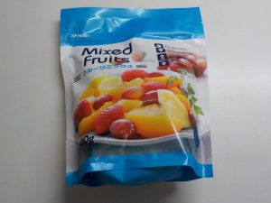 業務スーパーの冷凍フルーツミックス