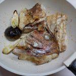 ヘルシオオーブンで作るタイのアラ焼き