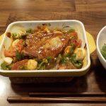 ヘルシオオーブンで作るトマトスープを韓国風に作ったが、コチジャン多すぎました
