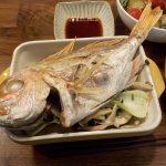 グラタン皿を使って連子鯛のまるごと焼き